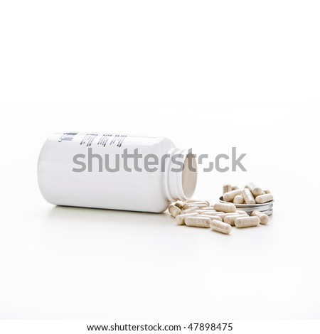 Tub of tablets health and fitness