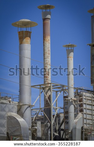 tube and industrial chimneys in area construction companies