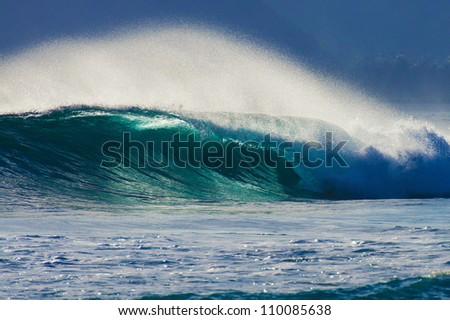 Tube Wave - stock photo