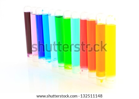 Tubes of color