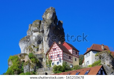Tuechersfeld  - stock photo