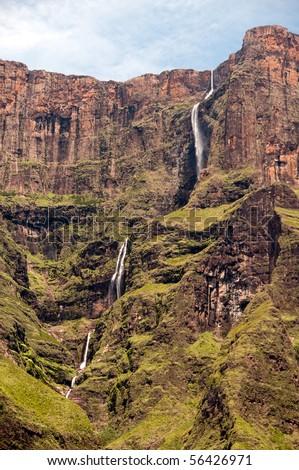 Tugela falls - stock photo
