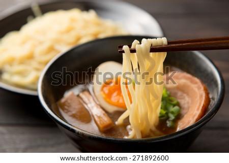 tukemen japanese food - stock photo