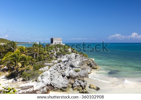 Tulum, Mexico - stock photo