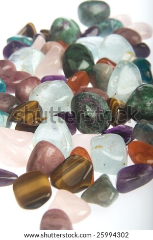 Tumblestones - stock photo