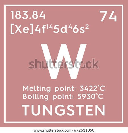 Tungsten transition metals chemical element mendeleevs stock tungsten transition metals chemical element of mendeleevs periodic table tungsten in square cube urtaz Gallery