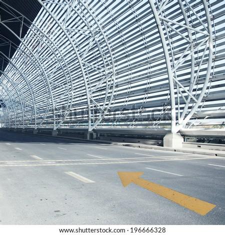 Tunnel passage - stock photo