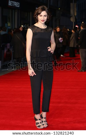 Tuppence Middleton arriving for the 'Tance' UK Premiere, Odeon Leicester Square, London.  19/03/2013 Picture by: Henry Harris