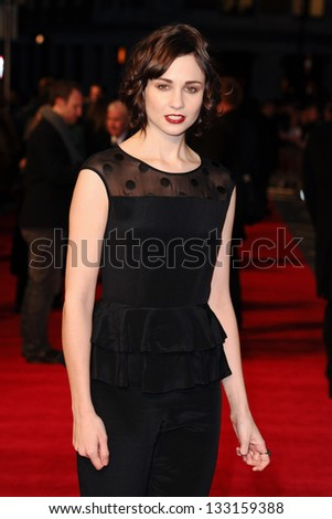 Tuppence Middleton arriving for the 'Tance' UK Premiere, Odeon Leicester Square, London.  19/03/2013 Picture by: Steve Vas