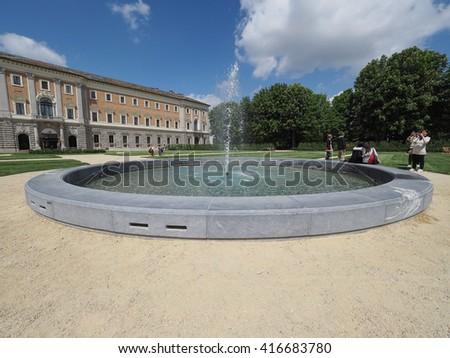 TURIN, ITALY - CIRCA APRIL 2016: Giardini Reali, meaning Royal Gardens - stock photo