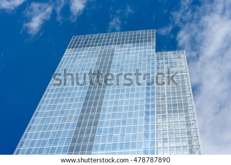TURIN, ITALY -  SEPTEMBER 06, 2016: Skyscraper designed by Studio Fuksas, will become the new headquarters of the Regione Piemonte, the building has 42 floors and is 209 meters high.