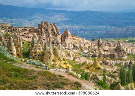 Turkey, Cappadocia, ancient housing