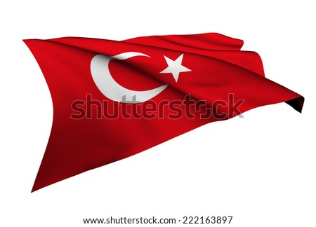 Turkey flag - collection no_5