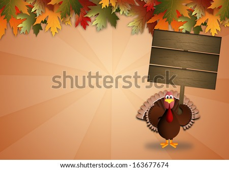Turkey for Thanksgiving Day - stock photo