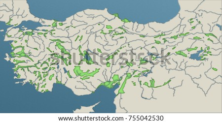 geographical map