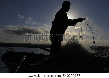 TURKEY - ISTANBUL ; 10 JULY 2016 , Fishing net manufacturing