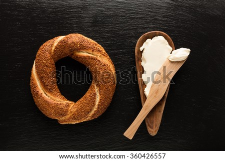 Turkish Bagel / Cheese  / Simit