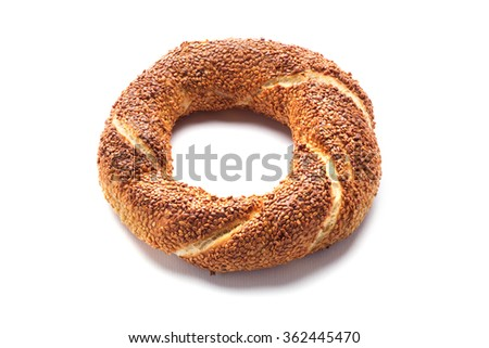 Turkish Bagel / Simit