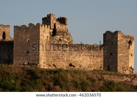 Turkish fortress Ram on the Danube in Serbia