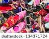 Turkish Slippers - stock photo