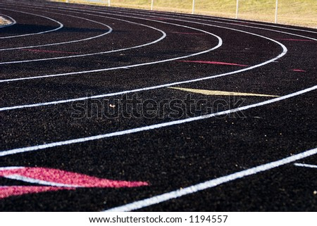 Turn on a Track & Field track