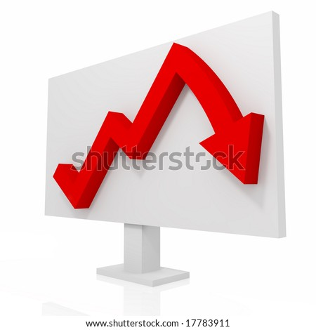 turn trend - stock photo
