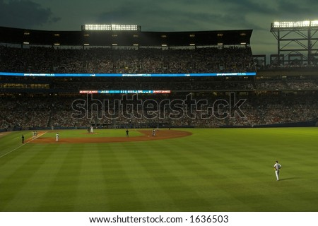Turner Field by night