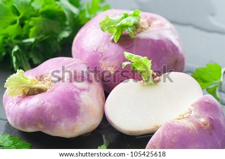 Turnips - stock photo