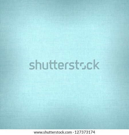 turquoise abstract canvas background or grid pattern linen blue texture - stock photo