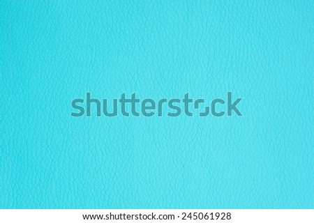 Turquoise Artificial Leather Background Texture Close-Up  - stock photo