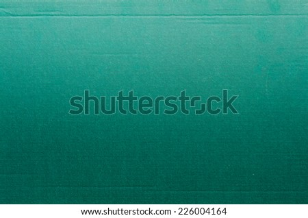 turquoise background of cardboard texture