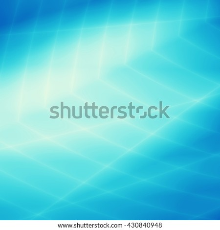 Turquoise blue wallpaper modern texture tech background - stock photo