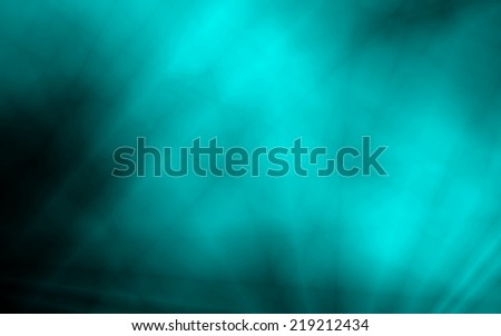Turquoise blue wide wallpaper abstract design - stock photo