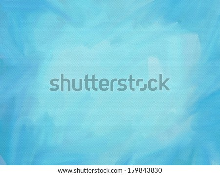 Turquoise digital canvas texture - stock photo