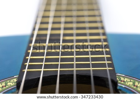 turquoise Guitar