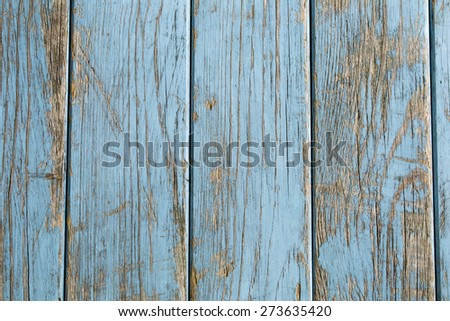 turquoise vintage wooden background  - stock photo