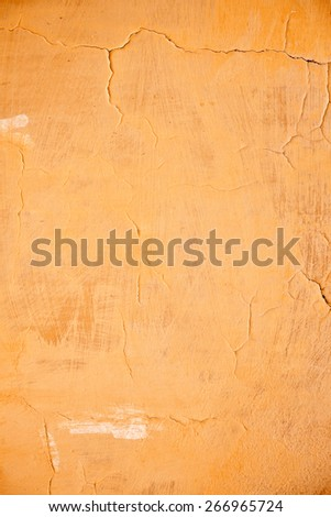 Tuscan Wall Background, Pastel Colored - stock photo