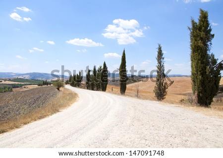 Tuscany countryside. Chianti region, Italy.  - stock photo