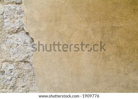 Tuscany Wall Texture Background 11 - stock photo