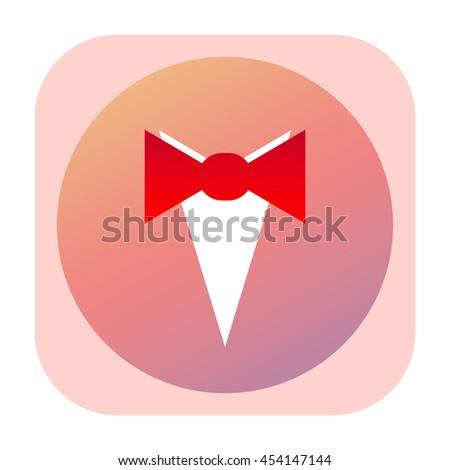 Tuxedo icon - stock photo