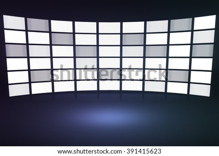 TV Performances Stage Background
