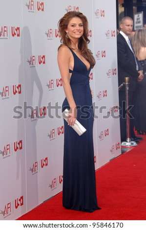 TV presenter MARIA MENOUNOS at the 34th AFI Life Achievement Award Gala in Hollywood. June 8, 2006  Los Angeles, CA  2006 Paul Smith / Featureflash