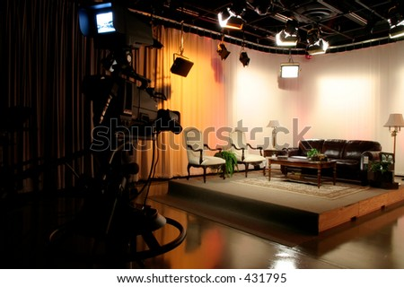 TV production studio