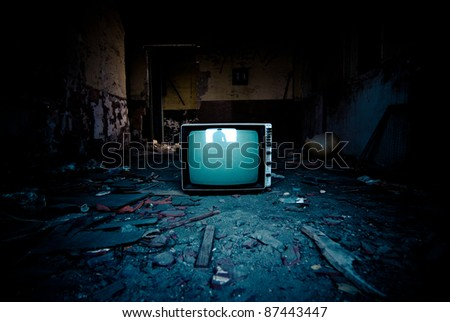 TV reflection
