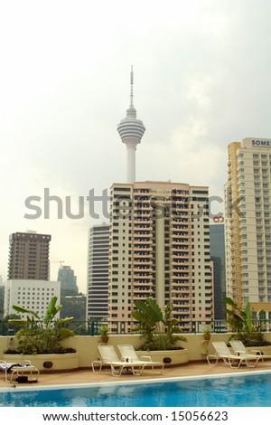 TV tower - stock photo