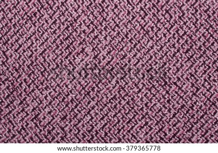tweed and jacquard fabric textile like texture. textured m�©lange upholstery fabric background with copy space for background and texture, fashion and home color on the texture of twill. Color 2016 - stock photo