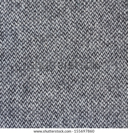Tweed fabric herringbone texture, wool pattern close up - stock photo