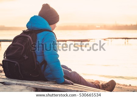 Lonely Boy Stock Images, Royalty-Free Images & Vectors | Shutterstock