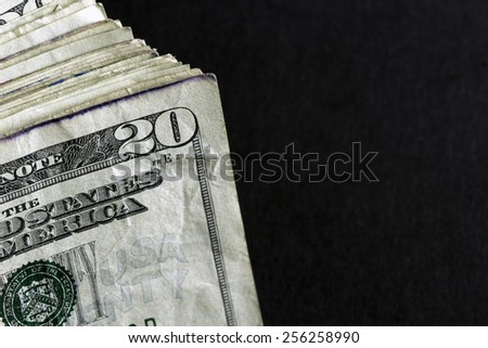 Twenty Dollar Bill - stock photo