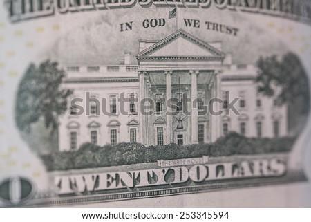 twenty dollars - stock photo